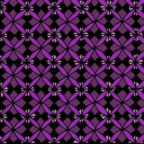 Tiled Lily - Purple