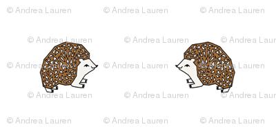 button hedgehog