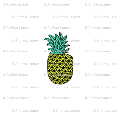 button pineapples