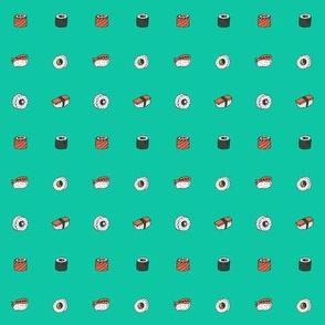 button sushi