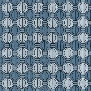Macrame Madness - Blue Grey