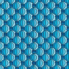 Macrame Madness - Bright Blue