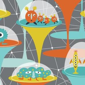 Alien Incubators - Grey