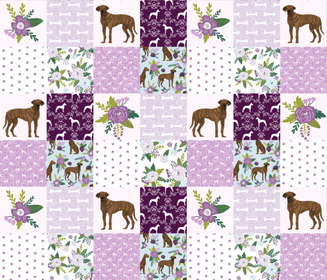 great dane brindle coat pet quilt c cheater wholecloth collection fabric by petfriendly on Spoonflower - custom fabric