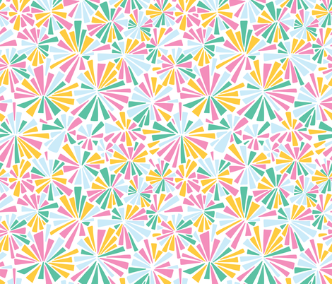 Color Explosions 3 fabric by manateedesignsco on Spoonflower - custom fabric