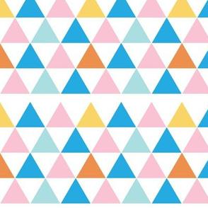 Triangles - White Background