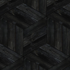 Weathered Parquet in Ebony