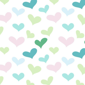 Adorable Lovely Cute Valentine Hearts 3
