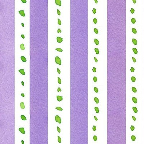Lavender and Lime Dot