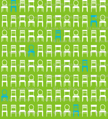 Tufted Tweets Chairs Green