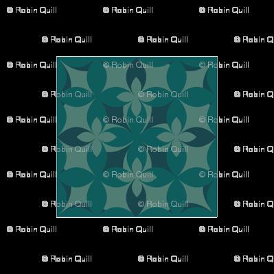 mono.floral.teal