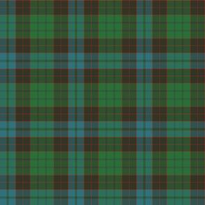 "Stewart of Bute 1963 clan tartan, 6"""
