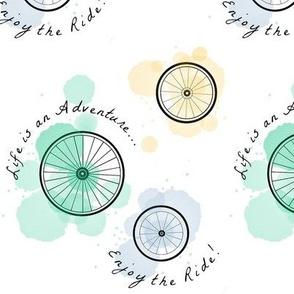 Bicycle Wheel Adventure