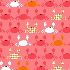 Dont be Crabby Crabs Pink