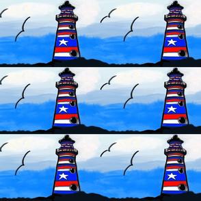 Texas Lighthouse Border