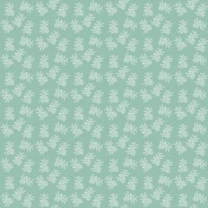 Delicate Fern, Eucalypt Green