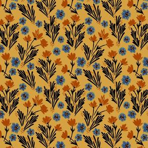 Apricot Floral