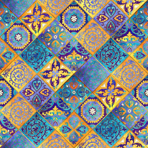 Marrakesh wall tile