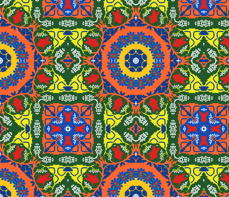 Marrakesh 1 fabric by justrachna on Spoonflower - custom fabric