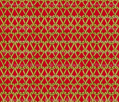 endless knots (red yellow)25