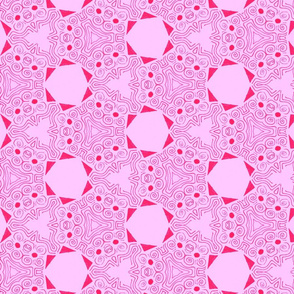 Strength geometrical_pink