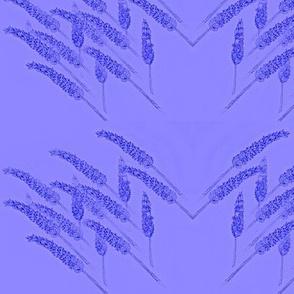 Lavender stippling-Lavender on violet