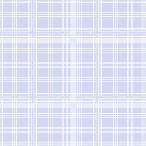 Lady of the Manor Tartan blue violet