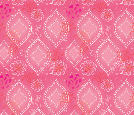 Pretty in Pink fabric by cathleenbronsky on Spoonflower - custom fabric