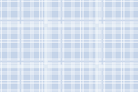 Lady of the Manor Tartan blueberry fabric by lilyoake on Spoonflower - custom fabric