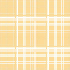 Lady of the Manor Tartan citrus