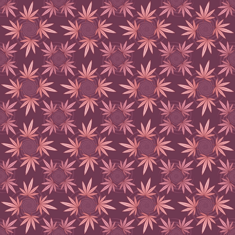 ★ CHECKERED WEED ★ Purple / Collection : Cannabis Factory 2 – Marijuana, Ganja, Pot, Hemp and other weeds prints fabric by borderlines on Spoonflower - custom fabric