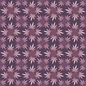 ★ CHECKERED WEED ★ Violet / Collection : Cannabis Factory 2 – Marijuana, Ganja, Pot, Hemp and other weeds prints