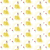 Princess Print with Belle-esque vibe