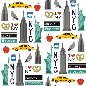 nyc tourist travel usa new york city fabric white