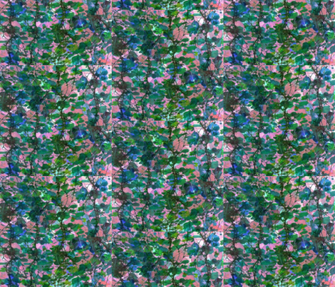 Flowering Vines fabric by zmarksthespot on Spoonflower - custom fabric
