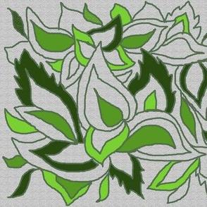 Leafy greens for Violet