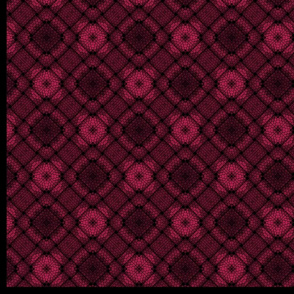 Raspberry plaid for Violet