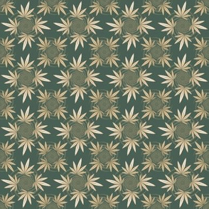 ★ CHECKERED WEED ★ Camo Green / Collection : Cannabis Factory 2 – Marijuana, Ganja, Pot, Hemp and other weeds prints