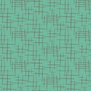 faux linen texture dark mint