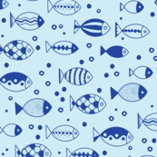 FIshies (Light Blue)