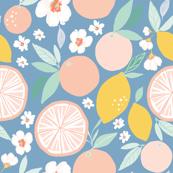 Indy bloom design Grapefruit Lemon B