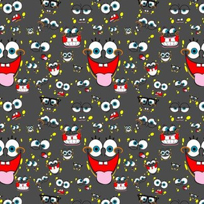 faces of Spongebob