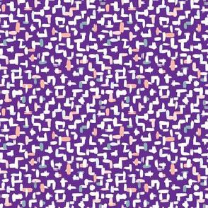 Crosshatch violet