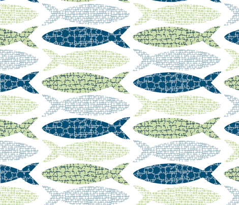 Herring fabric by sanna_kallio on Spoonflower - custom fabric