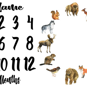 Forest Friends Monthly Milestone