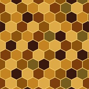 Honeycomb plain