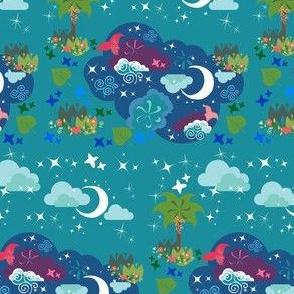 Midnight at Mermaid Lagoon—4 inch