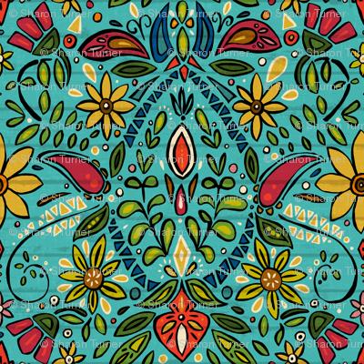 aziza turquoise