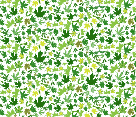 Spring Comes to Mapleville fabric by enlarsen on Spoonflower - custom fabric