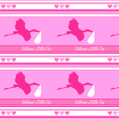 Baby Pink Stork